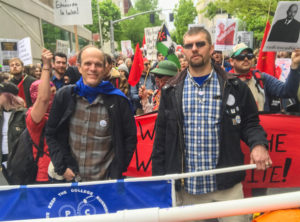 Frank Goulard and Jeff Grider at May Day
